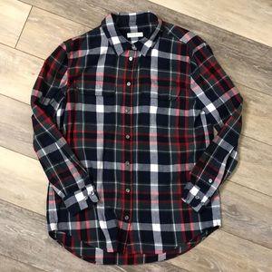 Equipment | Plaid Flannel Button Down Shirt